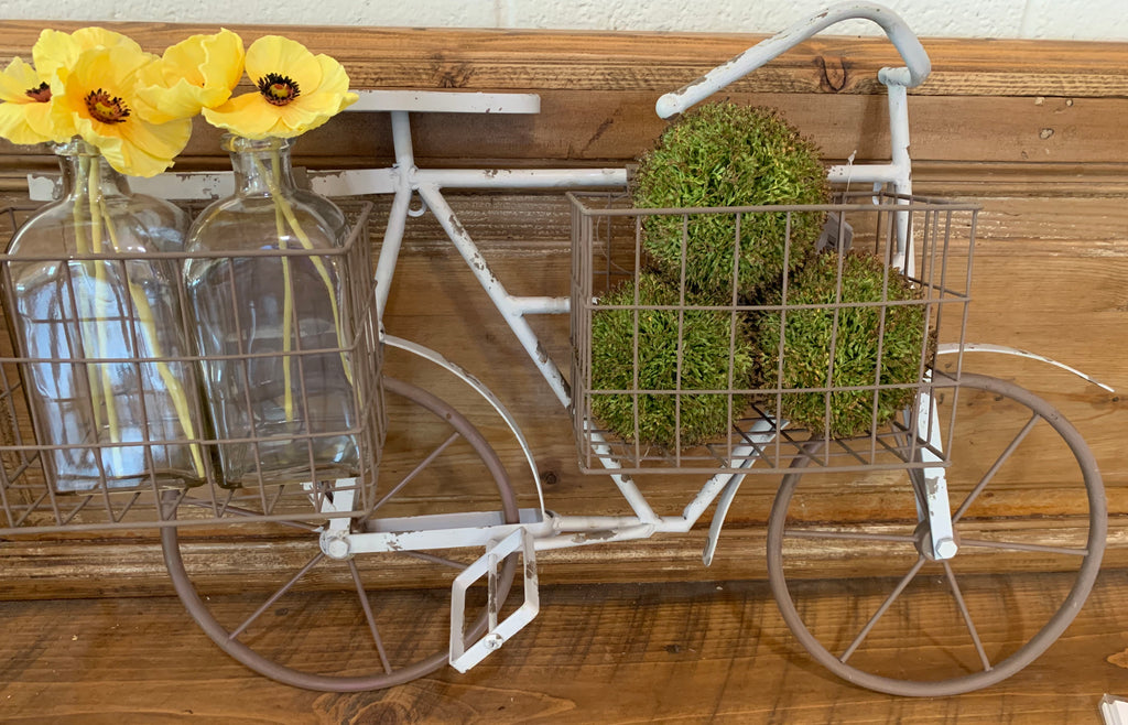 Metal Bicycle Wall Hanger