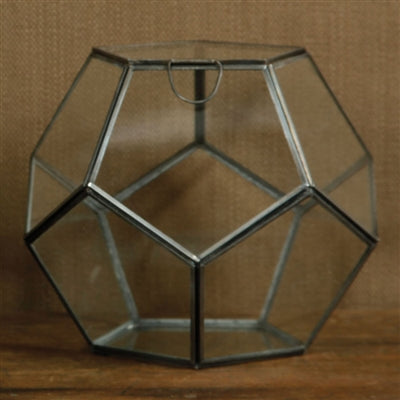 Pierre Faceted Terrarium- SM