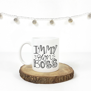 I'm My Own Boss 15 oz Coffee Mug