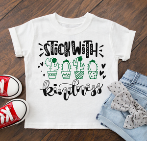 Stick With Kindness Kids Tee