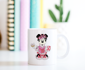 Morning Minnie Ceramic Coffee Mug