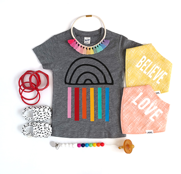 Happy Rainbow Tee