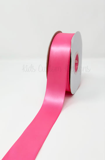 Double Face Satin Ribbon Hot Pink (W: 1-1/2 inch | 100 yards)