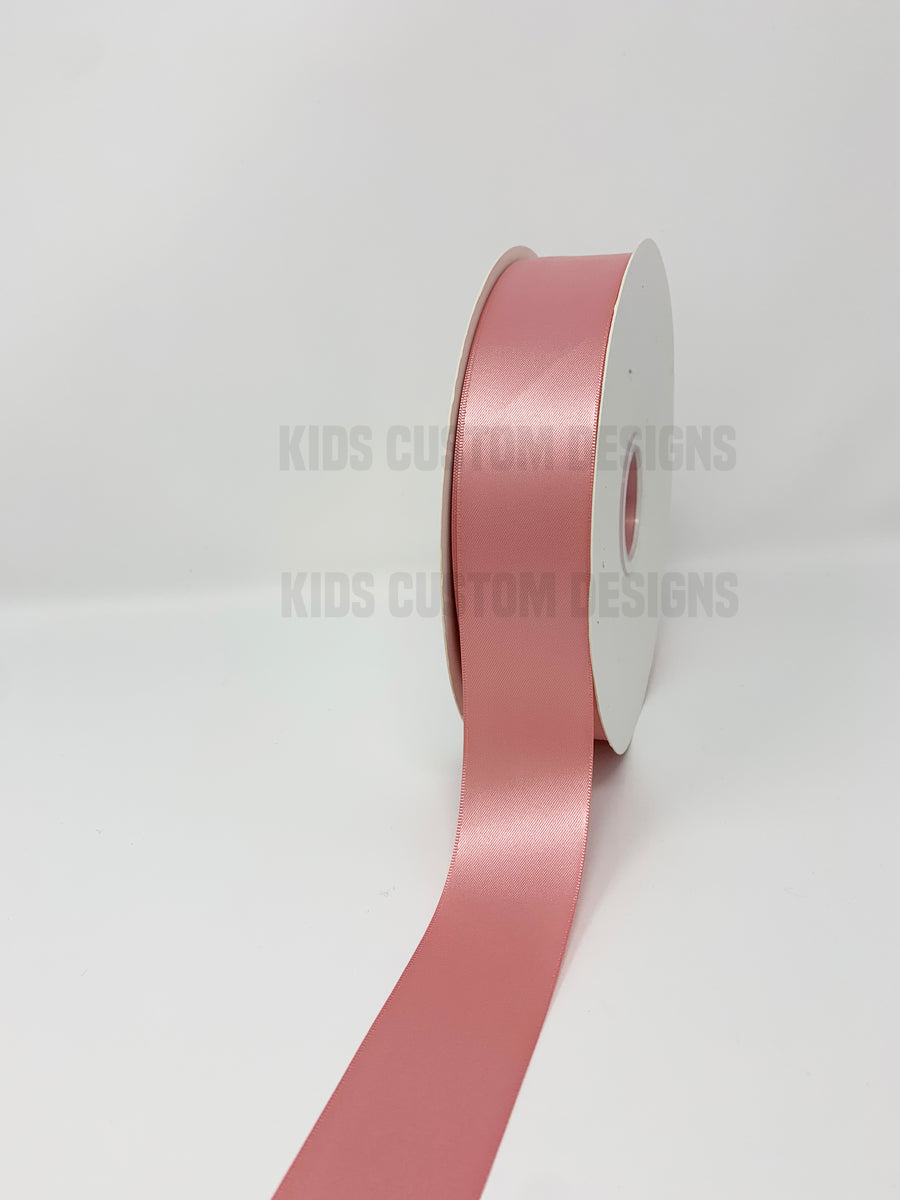 Double Face Satin Ribbon Dusty Rose (W: 1-1/2 inch | 100 yards)
