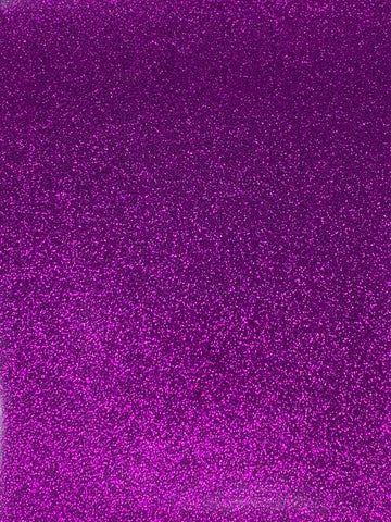 Purple Reflective Glitter Canvas Vinyl for Embroidery