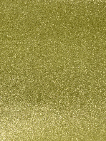 Golden Blonde Reflective Glitter Canvas Vinyl for Embroidery