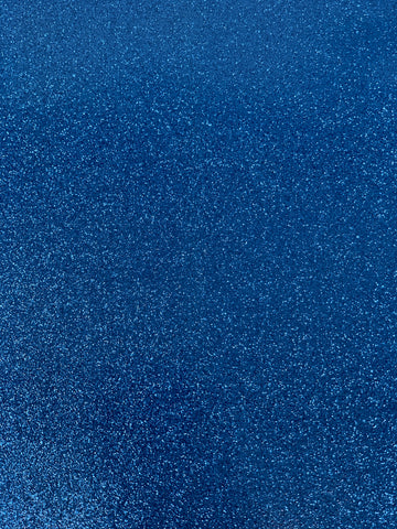 Blue Reflective Glitter Canvas Vinyl for Embroidery