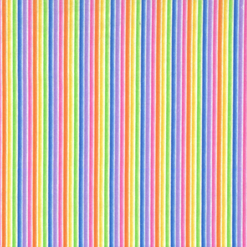 Rainbow Stripe Michael Miller 100% Cotton - 1 yard