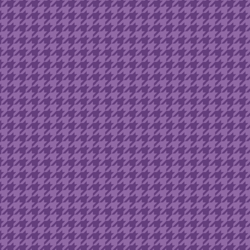 Violet Houndstooth 100% Cotton - 1 yard