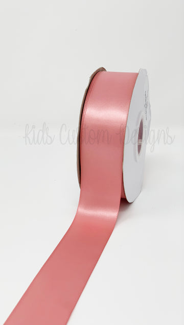 Double Face Satin Ribbon Blush (W: 1-1/2 inch | 100 yards)