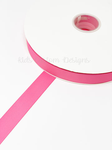 Grosgrain Ribbon Hot Pink (W: 7/8 inch | 100 yards)