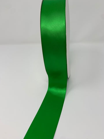 Double Face Satin Ribbon Emerald Green (W: 1-1/2 inch | 100 yards)