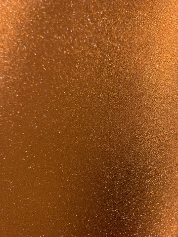 Brown sugar Sparkle Glitter Canvas Vinyl for Embroidery