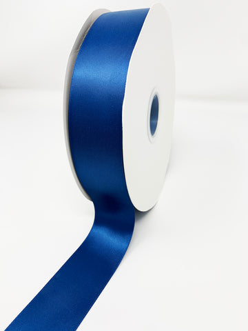 Double Face Satin Ribbon Navy (W: 1-1/2 inch | 100 yards)