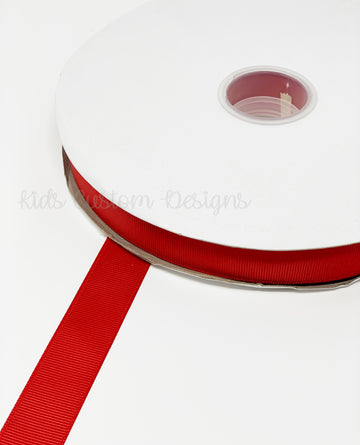 Grosgrain Ribbon Red (W: 7/8 inch | 100 yards)
