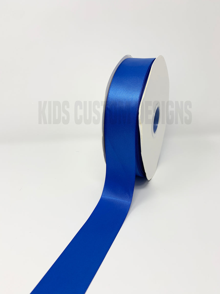 Double Face Satin Ribbon Royal Blue (W: 1-1/2 inch | 100 yards)