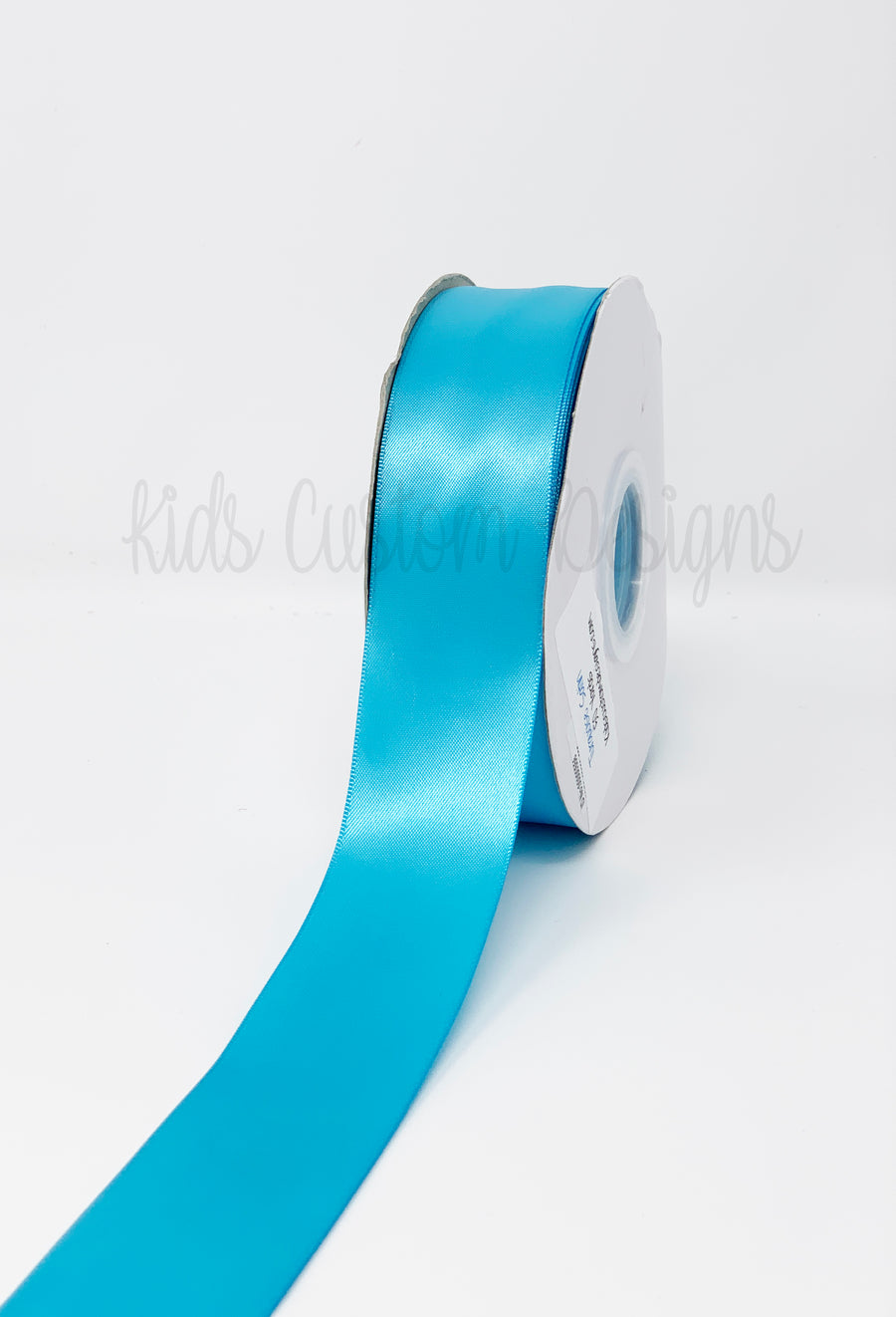 Double Face Satin Ribbon Turquoise (W: 1-1/2 inch | 100 yards)