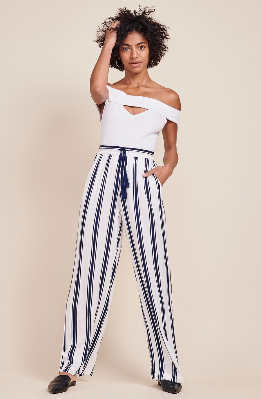 BB DAKOTA GOVE STRIPE PANT