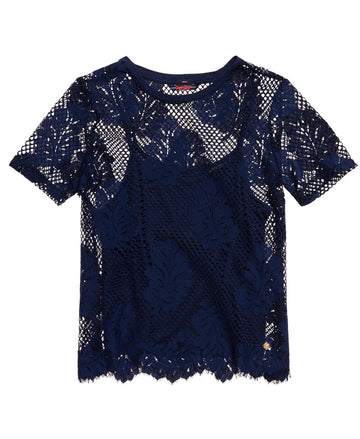 SUPERDRY SAVANNA LACE TEE
