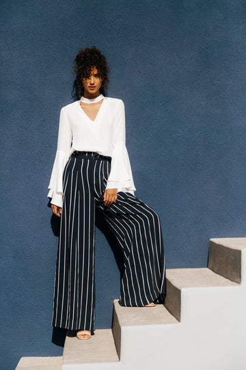 KENDALL & KYLIE WIDE LEG PANT
