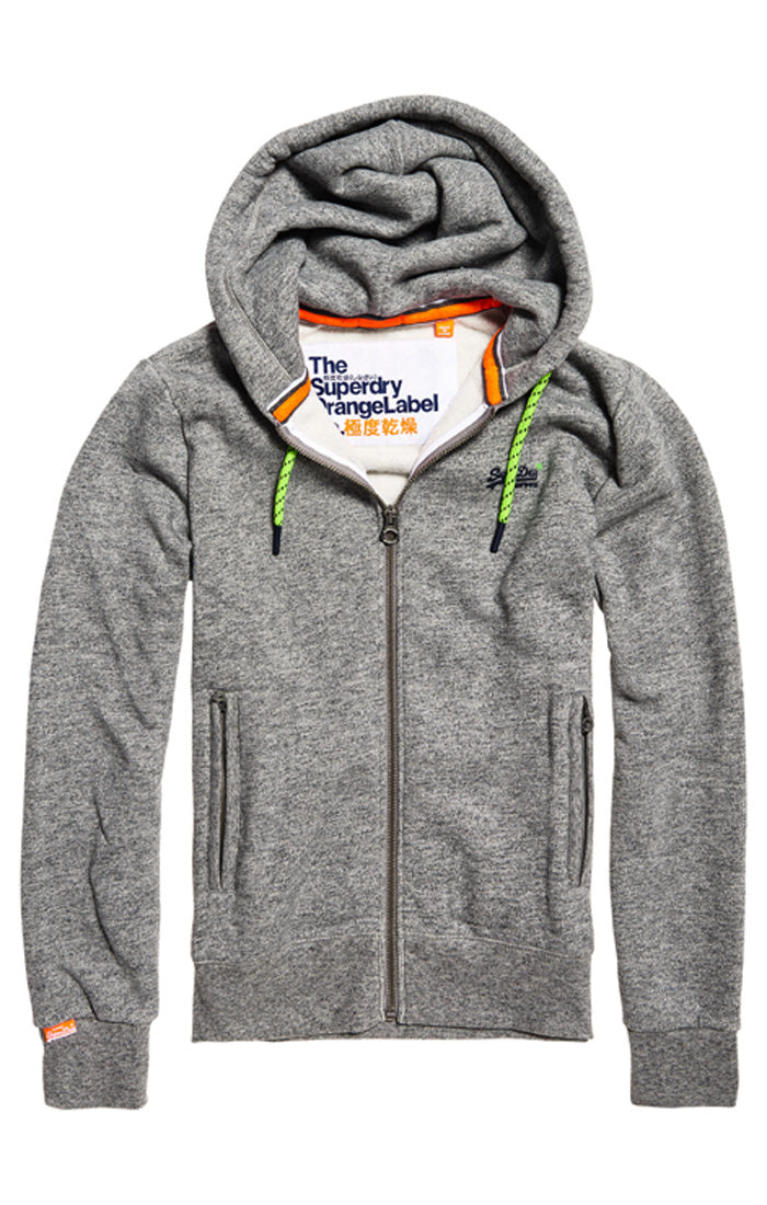 Superdry orange label hyper pop ziphood