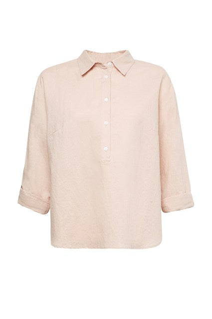 GREAT PLAINS COTTON LINEN TOP