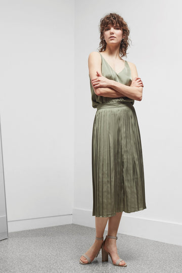 GREAT PLAINS SATIN SKIRT