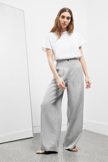 GREAT PLAINS HI SUMMER TAILORING WIDE LEG TROUSER