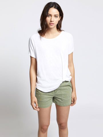 SANCTUARY ADRIENNE TWIST TEE