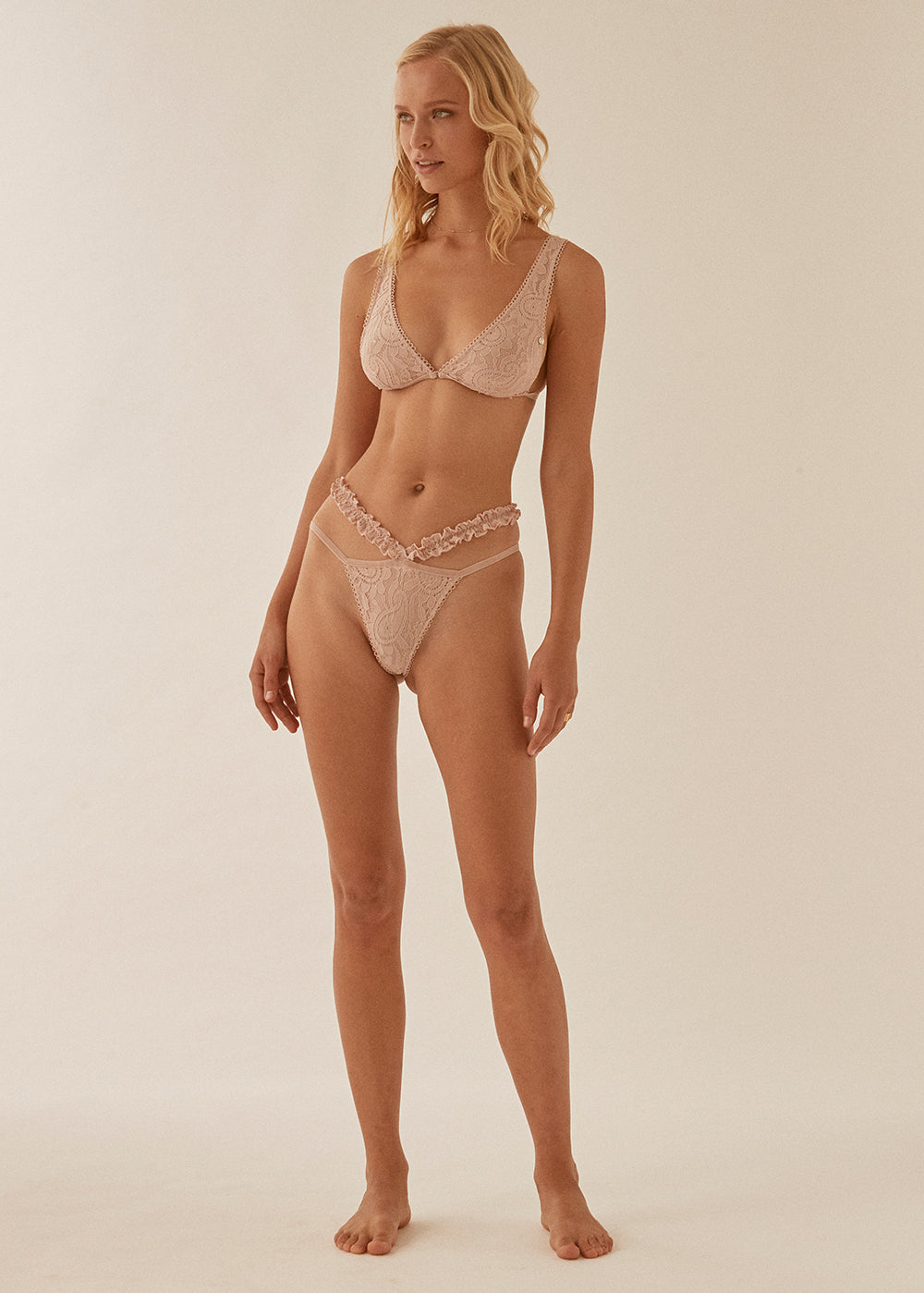 Bridget Long Line Bralette