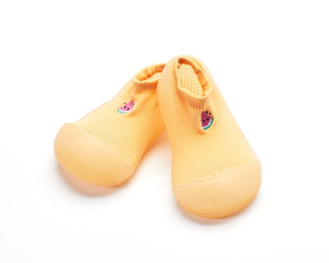 ATTIPAS Zapatos Primeros Pasos Cool Summer Amarillo Watermelon