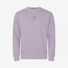 Tom Hope Apparel Sweatshirt Globe Purple Ocean