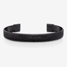 Tom Hope Bracelet Hybrid Leather Black
