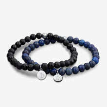 Tom Hope Bracelet Laguna Blue & Black