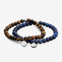 Tom Hope Bracelet Laguna Blue & Brown