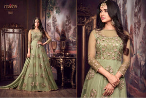 Awesome Designer Full Embroidary Floor Length Anarkali Suit