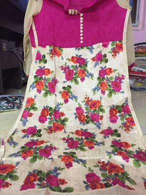 Multi Color Pure Cotton prints Kurta