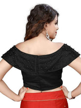 Black Color Readymade Banglory Moti Blouse