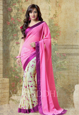 Multi Colour Saree Exclusive Beautiful Designer Bollywood Indian Partywear Sari 179
