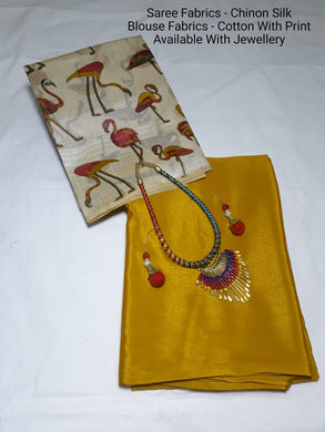 Yellow Colour Saree Exclusive Beautiful Designer Bolywood Indian Partywear Sari 752