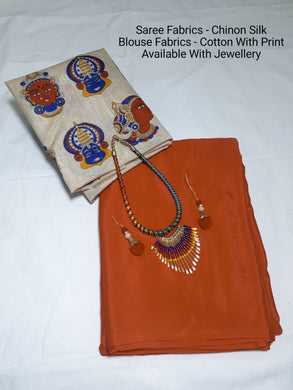 Orange Colour  Saree Exclusive Beautiful Designer Bolywood Indian Partywear Sari 753
