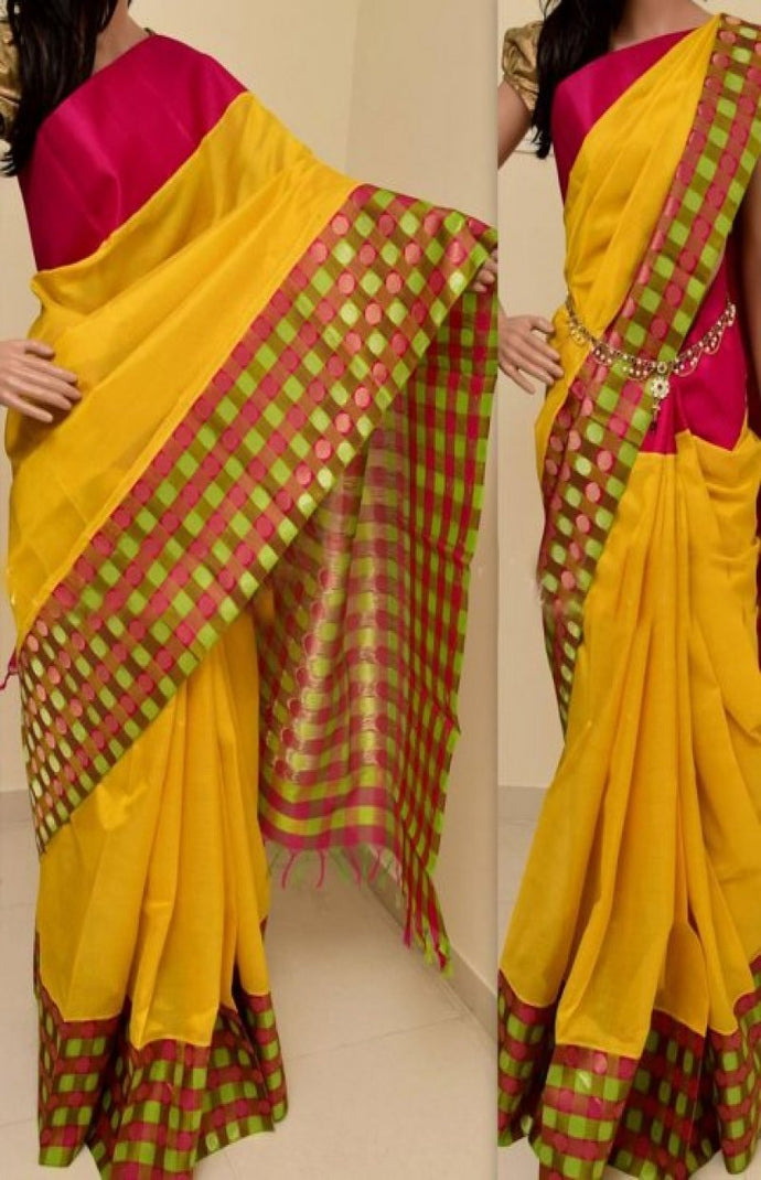 Multicolor Hot Selling Latest Bangalori Zarna Silk Digital Print Saree  129