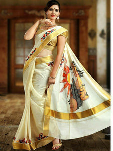 Multicolor New Arrival Latest Bangalori Satin Zarna Silk Digital Print Saree  28