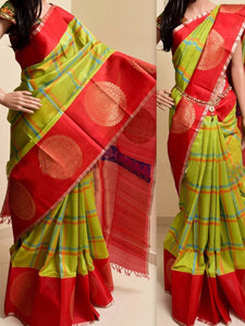 Multicolor New Arrival Latest Bangalori Satin Zarna Silk Digital Print Saree  45
