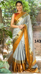 Multicolor Beautiful Designer Bangalori Satin Silk Digital Print Saree 65
