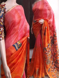 Multicolor Bangalori Satin Digital Print Saree Exclusive Designer Beautiful Indian Partywear