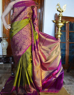 Multicolor Hot Selling Latest Bangalori Zarna Silk Digital Print Saree  75