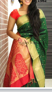 Multicolor Beautiful Designer Bangalori Satin Silk Digital Print Saree