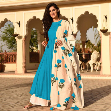 Firogi Colour Awesome Indian Stylish Women Designer Party Salwar Suit Kameez Semi-stiched Dress With