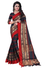 Awesome Black Color Party Wear Traditional Printed Work Saree
